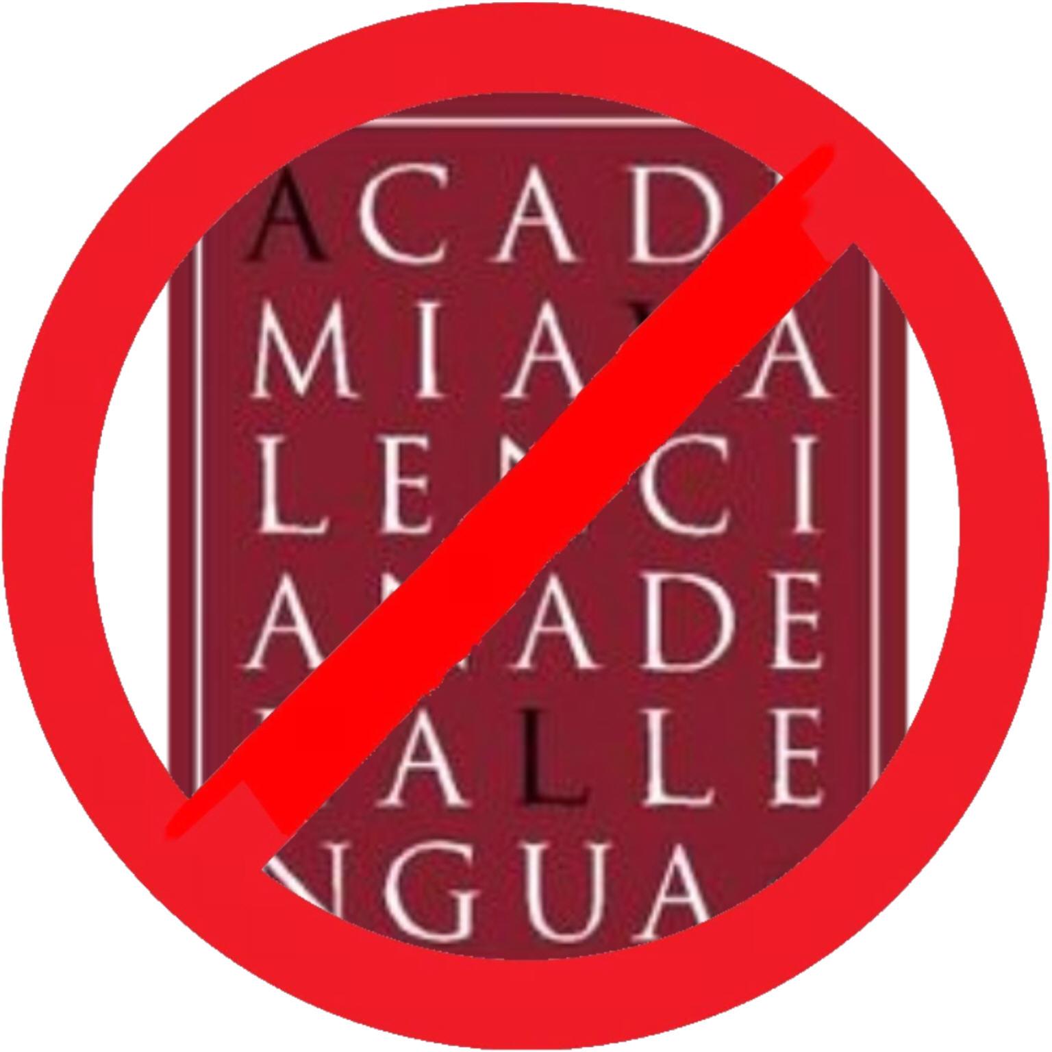 AVL: cap a l'extinció del valencià