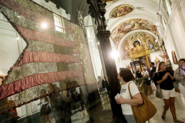 La Senyera en l'història del poble valencià