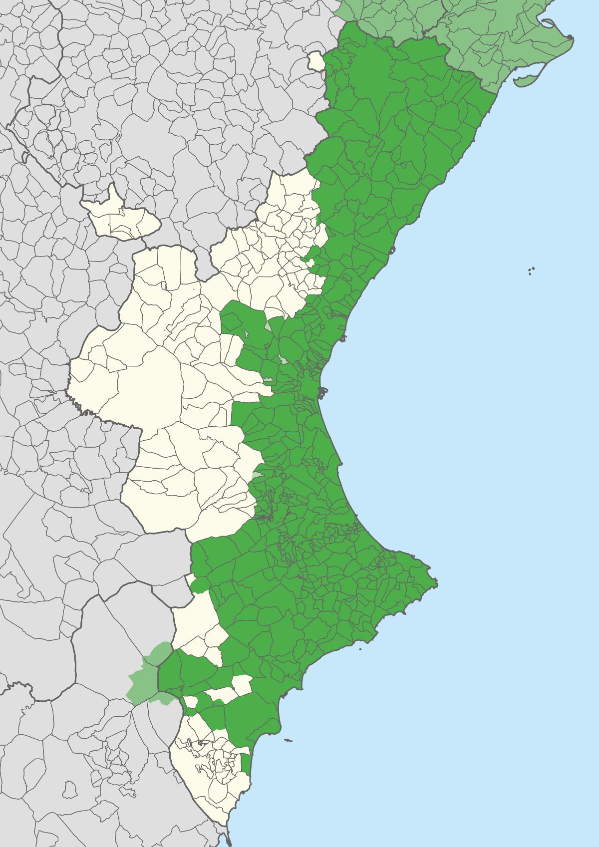 El valencià i Alacant