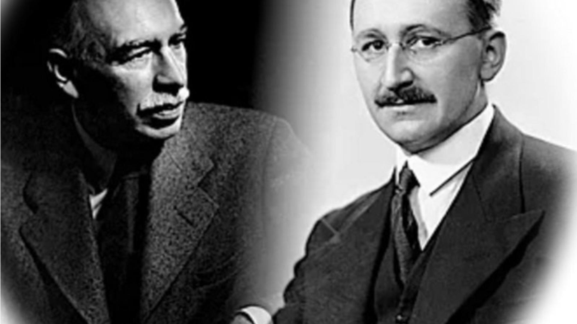 L'economia: entre Keynes i Hayek